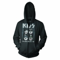 KISS I WAS MADE FOR LOVIN' YOU MEN'S ZIP HOODIE