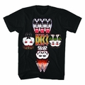 KISS MIRRORED IMAGE MEN'S T-SHIRT