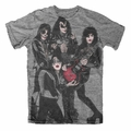 KISS ROCKET RIDE MEN'S T-SHIRT