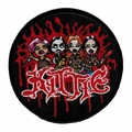 KITTIE CARTOON LOGO EMBROIDERED PATCH
