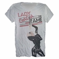 LADY GAGA MICROPHONE MEN'S T-SHIRT