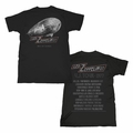 LED ZEPPELIN CITIES MEN'S T-SHIRT