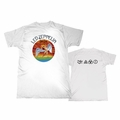 LED ZEPPELIN COLORED SWAN SONG WITH SYMBOLS MEN'S T-SHIRT