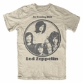 LED ZEPPELIN EVENING WITH CIRCLE LOGO MEN'S T-SHIRT