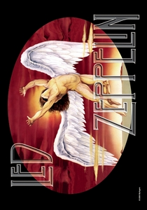LED ZEPPELIN ICARUS FABRIC POSTER