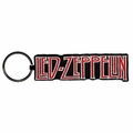 LED ZEPPELIN LOGO EMBROIDERED RECTANGLE KEYCHAIN