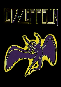 LED ZEPPELIN SWAN SONG FABRIC POSTER