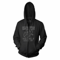 LED ZEPPELIN US 1977 MEN'S ZIP HOODIE