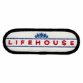 LIFEHOUSE LOGO EMBROIDERED PATCH