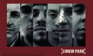 LINKIN PARK BAND FACES STICKER