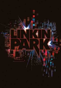 LINKIN PARK SPLATTER  FABRIC POSTER