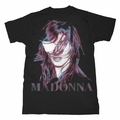 MADONNA MDNA BLACK GRAPHIC PHOTO MEN'S T-SHIRT