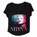 MADONNA MDNA PHOTO WOMEN'S DOLMAN T-SHIRT
