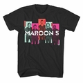 MAROON 5 PHOTO BLOCKS SLIM FIT MEN'S T-SHIRT