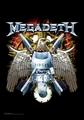MEGADETH EAGLE FABRIC POSTER
