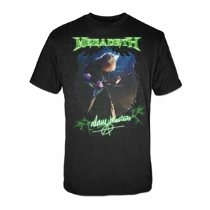 MEGADETH MEGADETH PHOTO MEN'S T-SHIRT