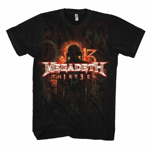 MEGADETH TH1RT3EN REGULAR MEN'S T-SHIRT