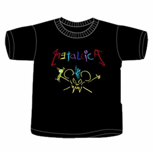 METALLICA CRAYON TODDLER T-SHIRT