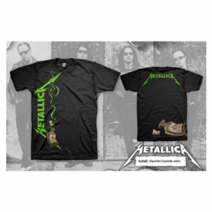 METALLICA CYANIDE BOTTLE MEN'S T-SHIRT