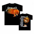 METALLICA FLAMING SUN MEN'S T-SHIRT