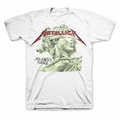 METALLICA JUSTICE GREEN CHROME STATUE MEN'S T-SHIRT