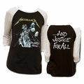 METALLICA JUSTICE RAGLAN MEN'S T-SHIRT