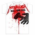 METALLICA KILL EM ALL SPLATTER MEN'S T-SHIRT