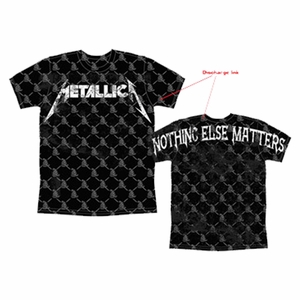 METALLICA LIMITED EDITION NOTHING ELSE AO MEN'S T-SHIRT