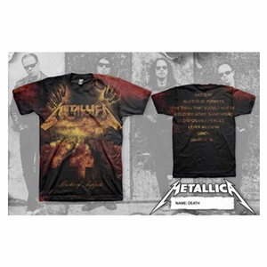 METALLICA MOP DEATH AO MEN'S T-SHIRT