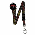 METALLICA MULTI LOGO LANYARD KEYCHAIN HOLDER