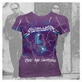 METALLICA PURPLE LIGHTENING WOMEN'S T-SHIRT