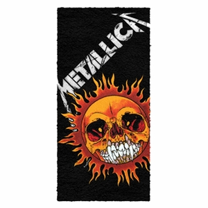 METALLICA PUSHEAD SUN TOWEL