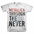 METALLICA SEE THROUGH MEN'S T-SHIRT