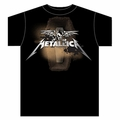 METALLICA SEEK WINGS COFFIN MEN'S T-SHIRT
