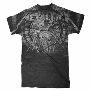 METALLICA STONE JUSTICE MEN'S T-SHIRT