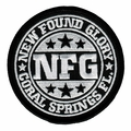 NEW FOUND GLORY CORAL SPRINGS FL EMBROIDERED PATCH