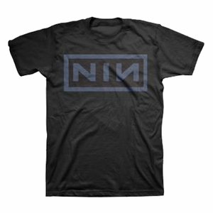 NINE INCH NAILS NIN NAVY MEN'S T-SHIRT