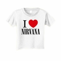 NIRVANA I LOVE NIRVANA TODDLER T-SHIRT