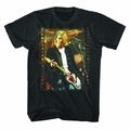NIRVANA KURT COBAIN FLIM STRIP PHOTO MEN'S T-SHIRT