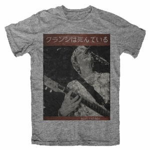 NIRVANA KURT COBAIN GUITAR KURT MEN'S T-SHIRT