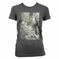 NIRVANA KURT COBAIN SEPIA PHOTO WOMEN'S T-SHIRT