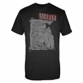 NIRVANA MILAN SET LIST MEN'S T-SHIRT
