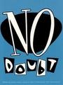 NO DOUBT BLUE LOGO STICKER