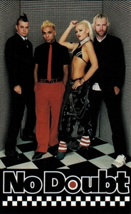 NO DOUBT CHECK IT BAND PHOTO STICKER
