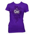 OZZY OSBOURNE CELTIC LOGO WOMEN'S TISSUE T-SHIRT