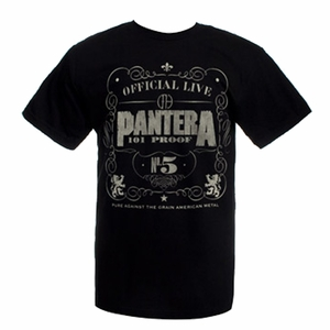 PANTERA 101 PROOF MEN'S T-SHIRT