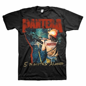 PANTERA 5 MINUTES ALONE MEN'S T-SHIRT