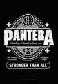 PANTERA BEER LABEL FABRIC POSTER