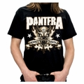 PANTERA HOSTILE SKULL MEN'S T-SHIRT