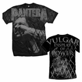 PANTERA VULGAR ALL OVER MEN'S T-SHIRT